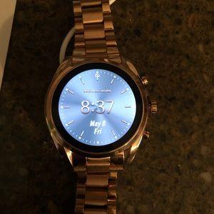 MicHel Kors Access Gen 5 Bradshaw smart watch